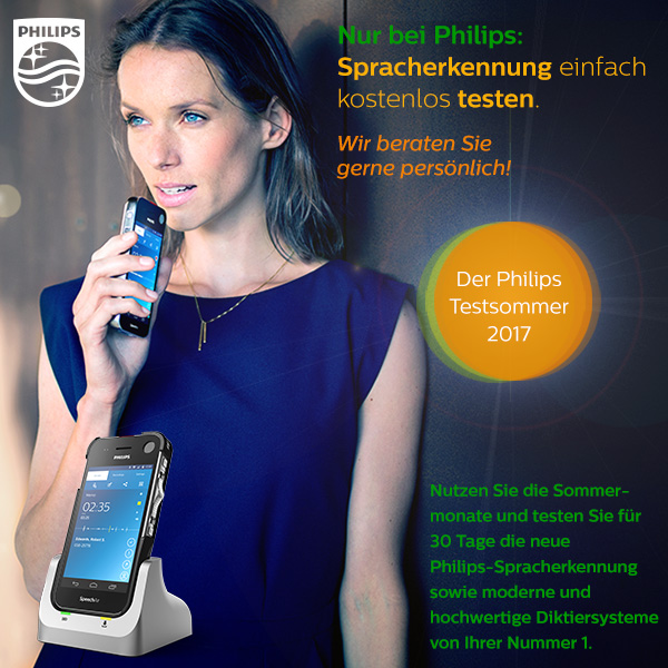 Philips Spracherkennung testen