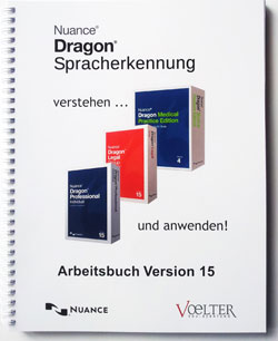 Dragon Naturally Speaking Arbeitsbuch